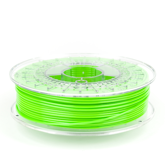XT-light green, carbon fiber, 3d printing, spool, colorFabb, color fabb, stacker
