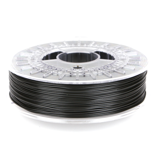 XT-black, carbon fiber, 3d printing, spool, colorFabb, color fabb, stacker