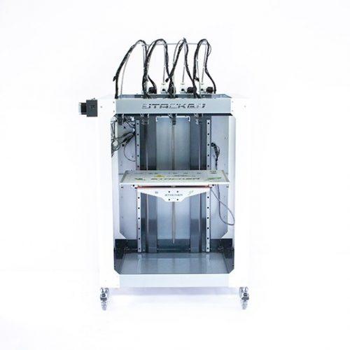 stacker, s4, 4 head, frame, extender, 3d desktop printer, stacker 3d, color fabb, filaments, s2, ibeam, i-beam, stacker s4