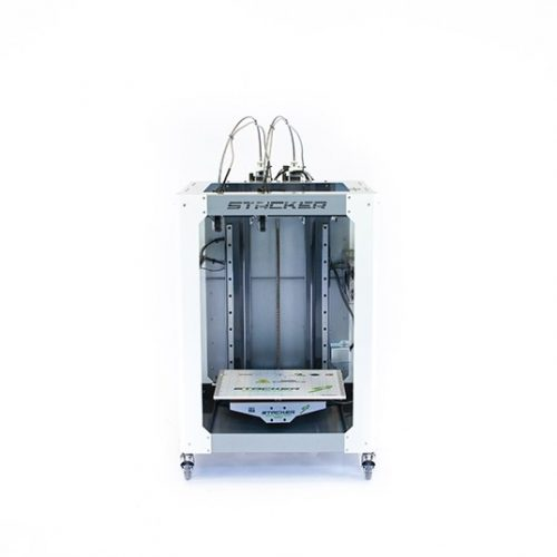stacker, s4, 4 head, frame, extender, 3d desktop printer, stacker 3d, color fabb, filaments, s2, ibeam, i-beam, stacker s4