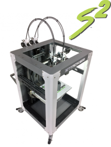 stacker, s4, 4 head, frame, extender, 3d desktop printer, stacker 3d, color fabb, filaments, s2