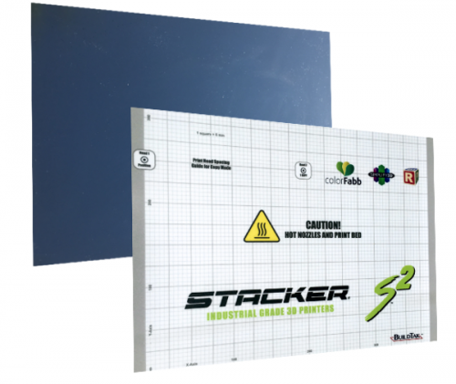 stacker, s4, 4 head, frame, extender, 3d desktop printer, stacker 3d, color fabb, filaments, s2, ibeam, i-beam, stacker s4, stacker xl, FlexPlate and BuildTak