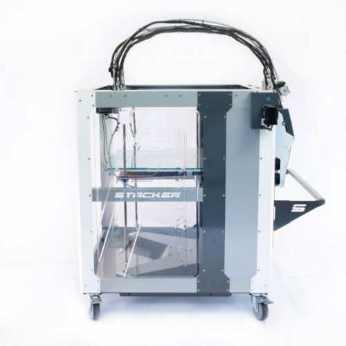 stacker, s4, 4 head, frame, extender, 3d desktop printer, stacker 3d, color fabb, filaments, s2, ibeam, i-beam, stacker s4-xl