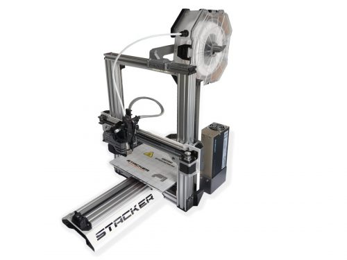 stacker, single head, 1 head, 3d desktop printer, stacker 3d, f-1, f1, f-box, fbox, industrial printer, f-box, fbox